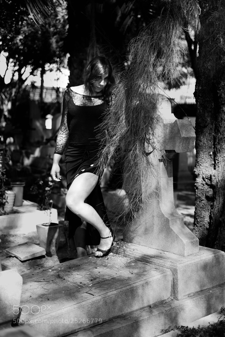 Photograph graveyard girl III by miguel angel cortes on 500px