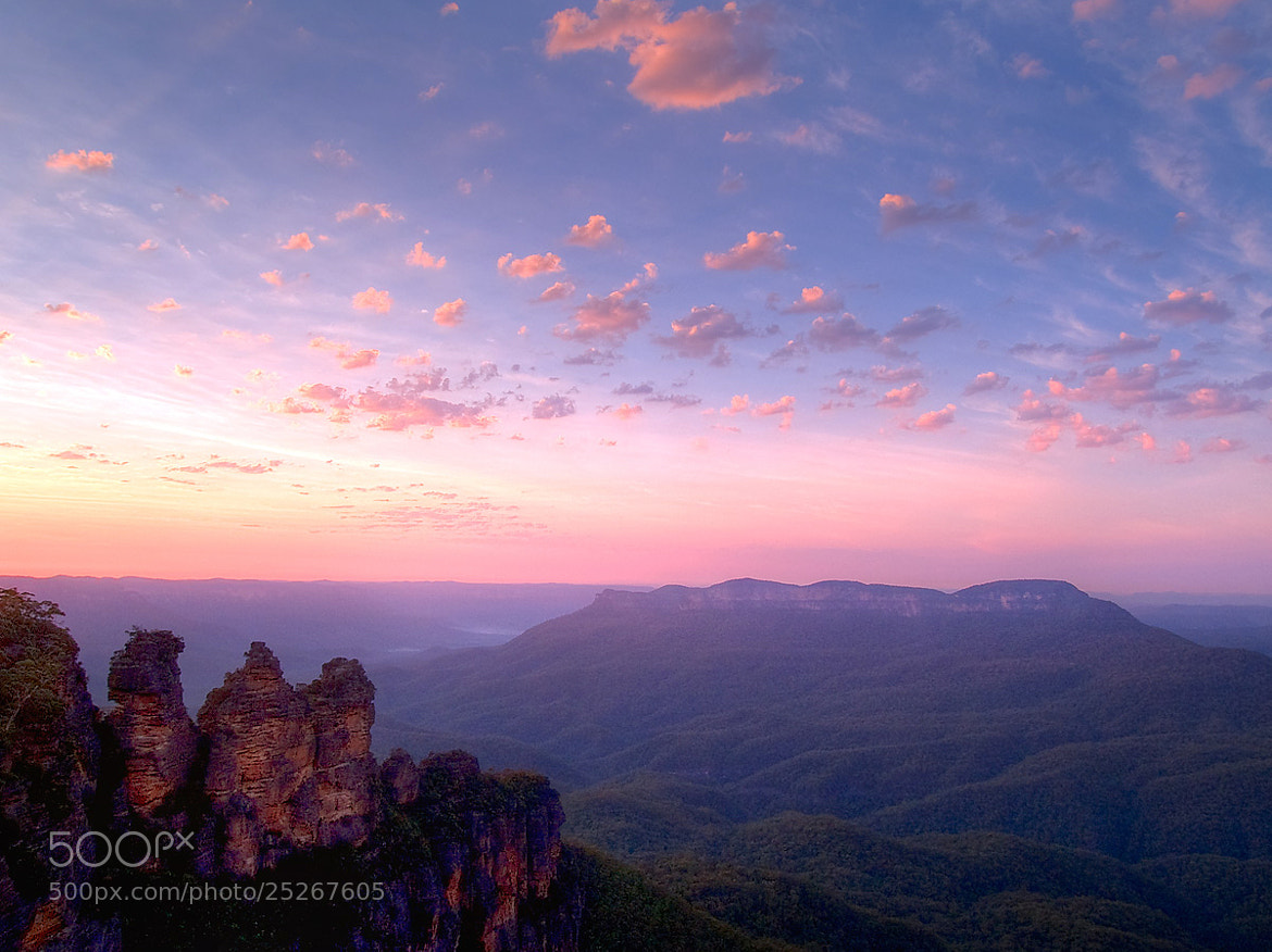 Photograph Blue Mountains sunrise by Steve Daggar on 500px