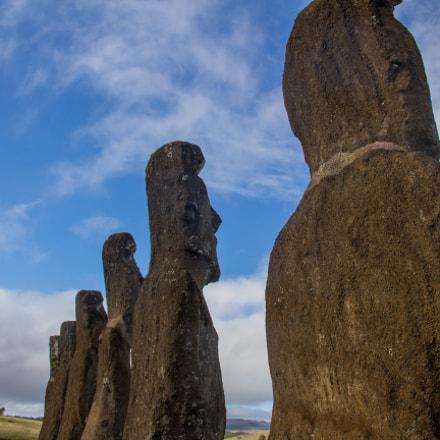 Ahu Akivi - Moai