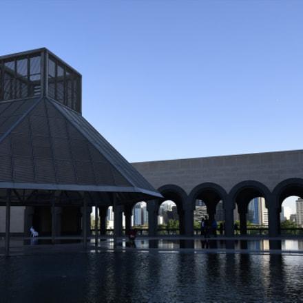 Islamic art museum, Nikon D500