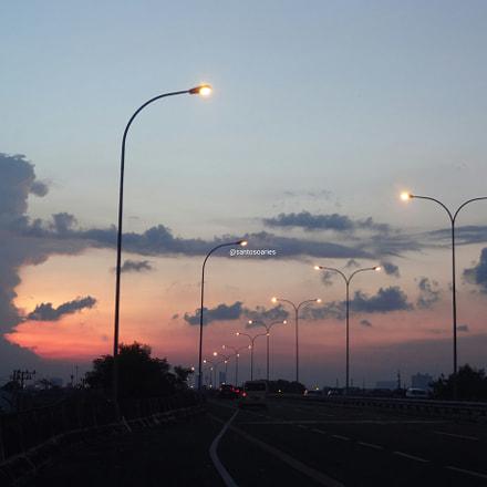 Toll Road Sundown, Sony DSC-QX10