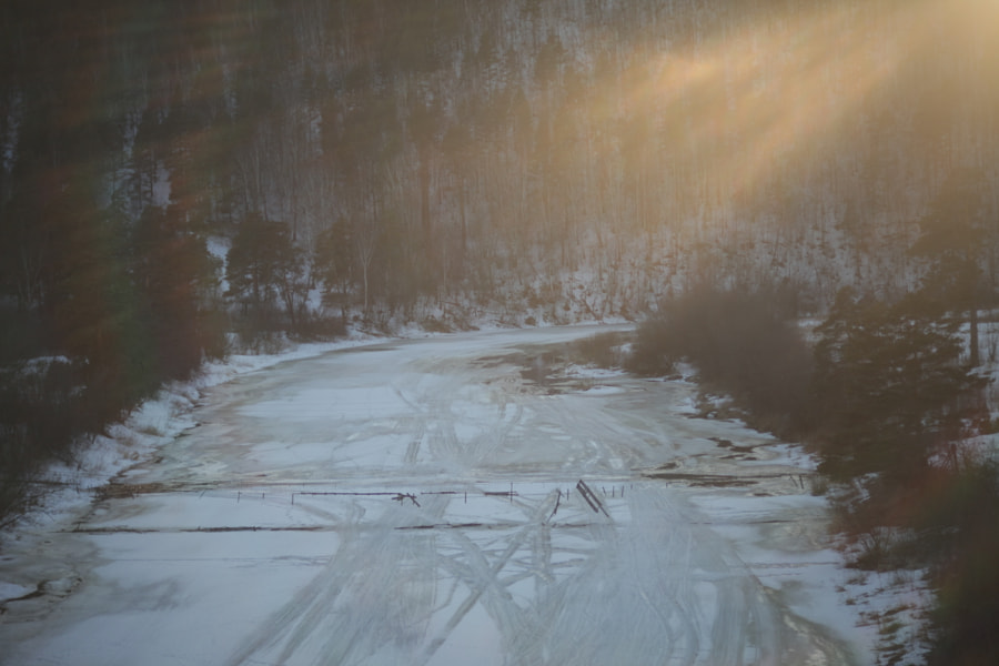 Old suspension bridge, Ay river, автор — Maxim Tashkinov на 500px.com