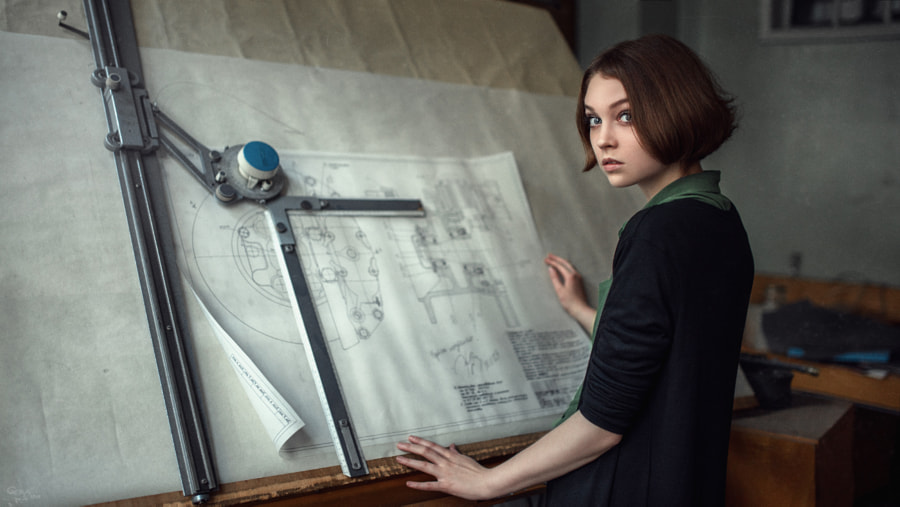 Olya, автор — Georgy Chernyadyev (Portrait) на 500px.com