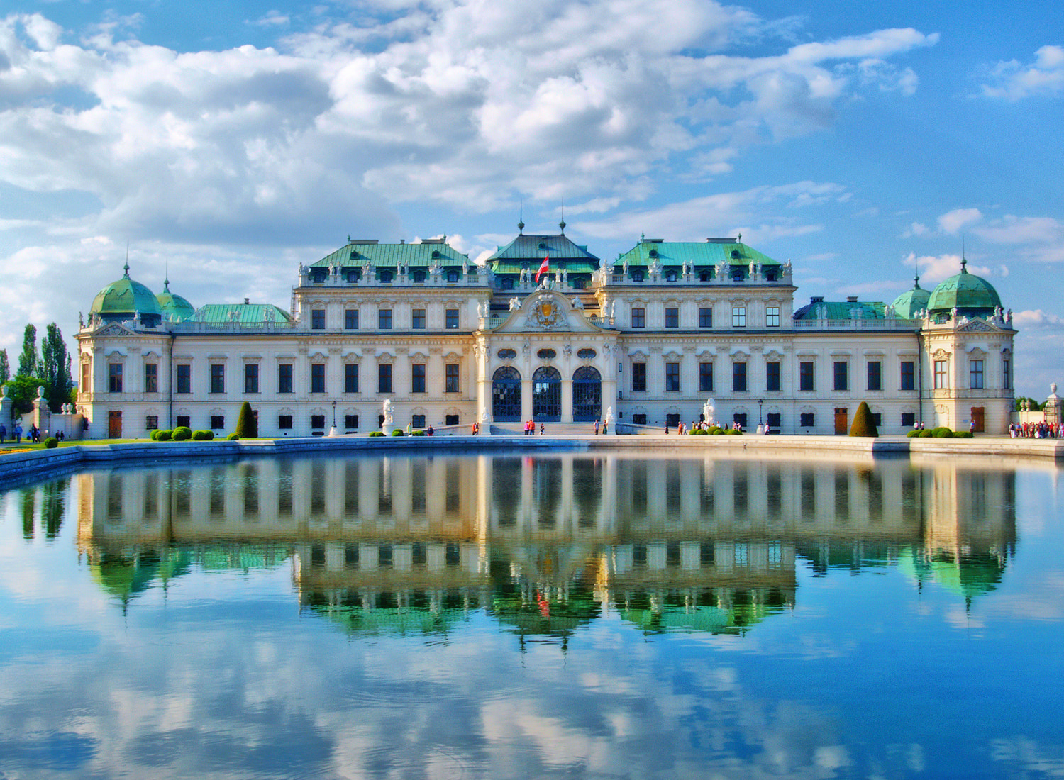 Photograph Belvedere Palace by Steve Daggar on 500px