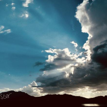 Cloudy sun, Panasonic DMC-FZ48