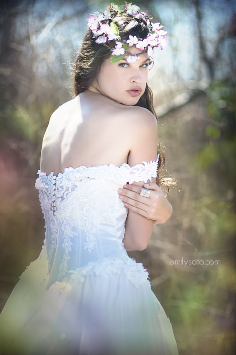 Photograph Snow White by Emily  Soto on 500px