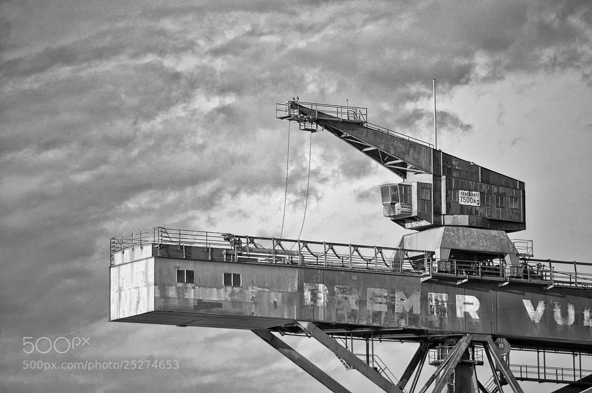 Photograph Bremer industry by Sebastian Kwiatek on 500px
