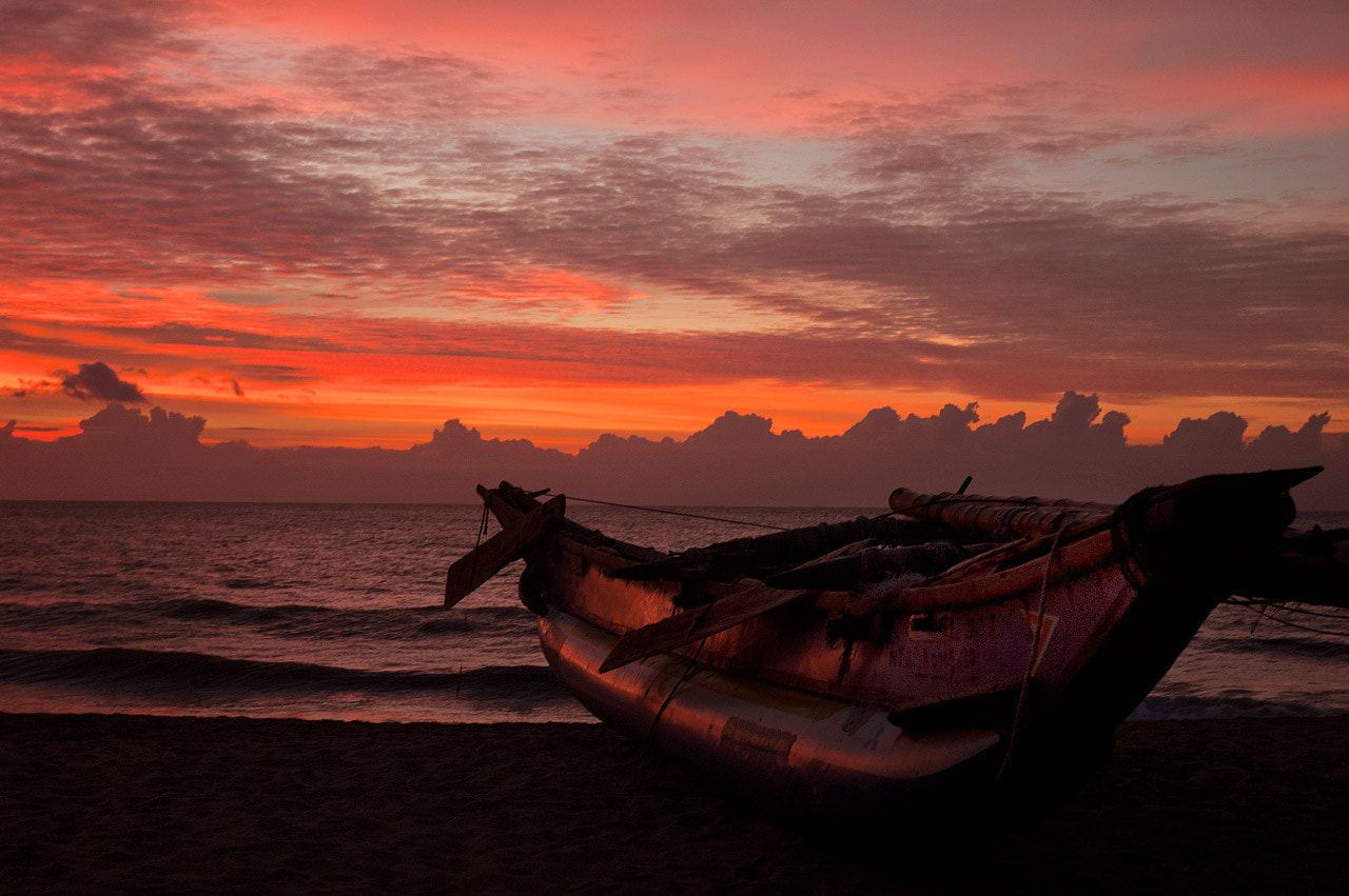 Photograph Boat at Negombo Beach 9567 by Pat Burns on 500px
