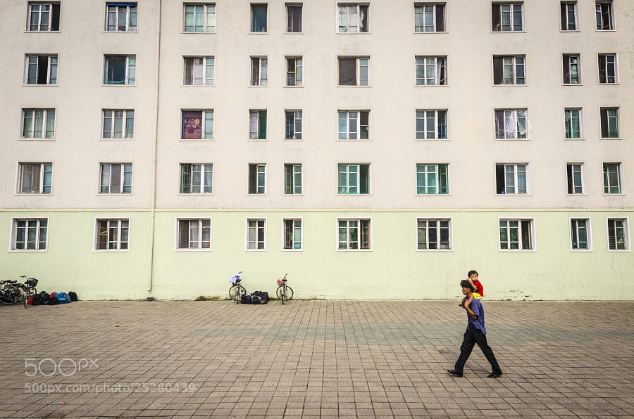 Photograph Pyongyang apartment block by Vilhelm Rothe on 500px