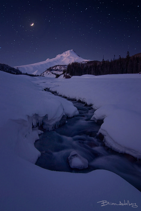 Photograph Moonlit River. by Brian Adelberg on 500px