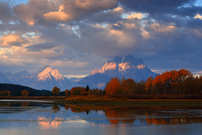 Photograph Oxbow bend by donald luo on 500px