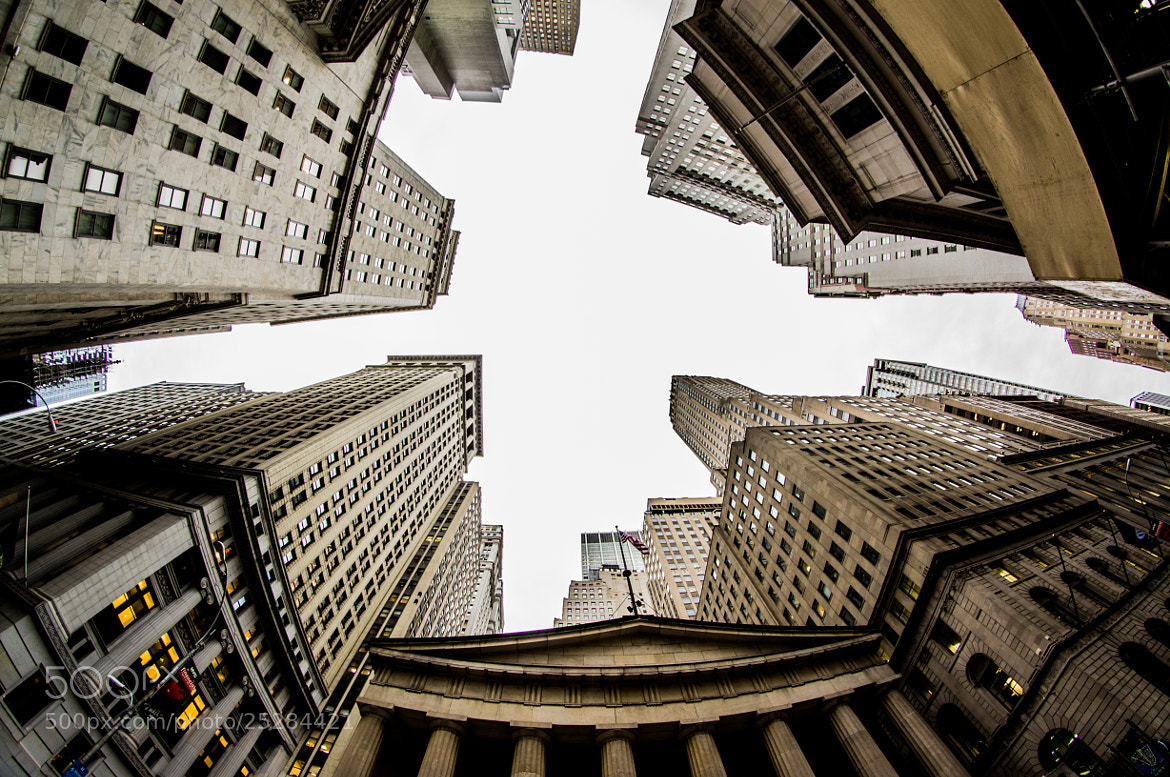 Photograph The Wall Street by Alex Gaflig on 500px