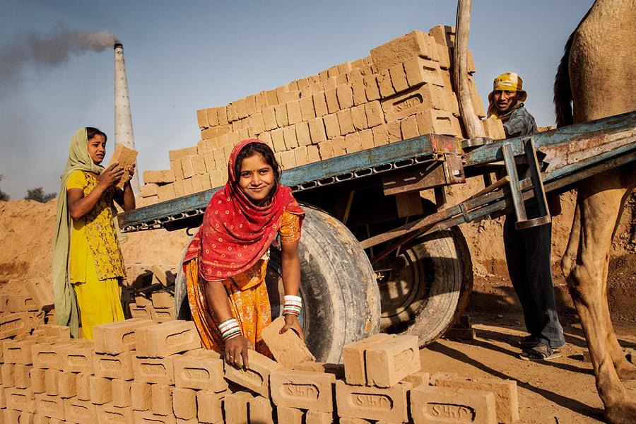 About work on brickyard