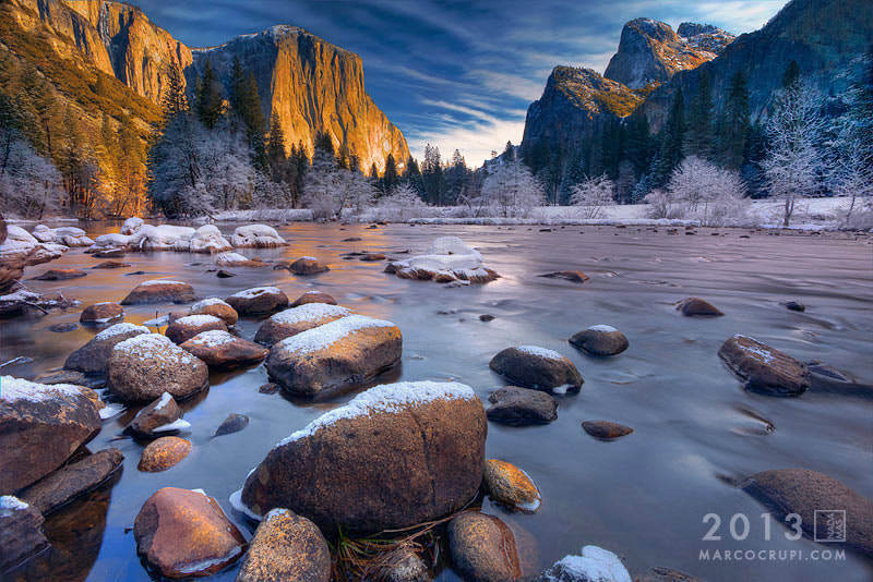 Photograph Winter Valley Wonderland by Marco Crupi on 500px