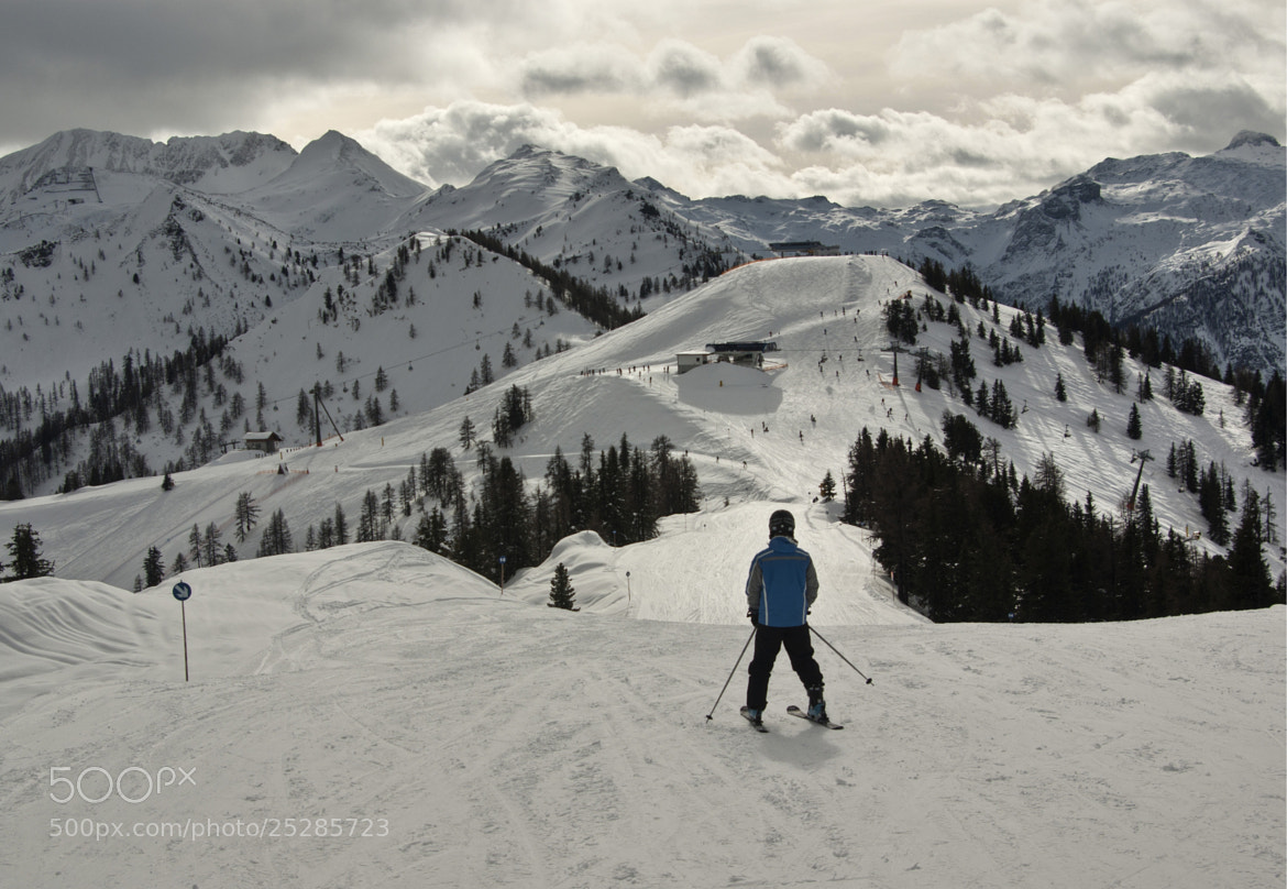 Photograph Skiing  by Béla Török on 500px