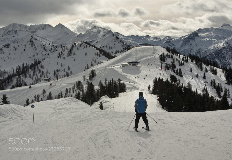 Photograph Skiing  by Béla Török on 500px