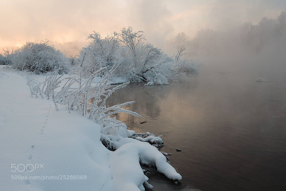 Photograph River Jacuzzi -30 ℃ by Marat Akhmetvaleev on 500px