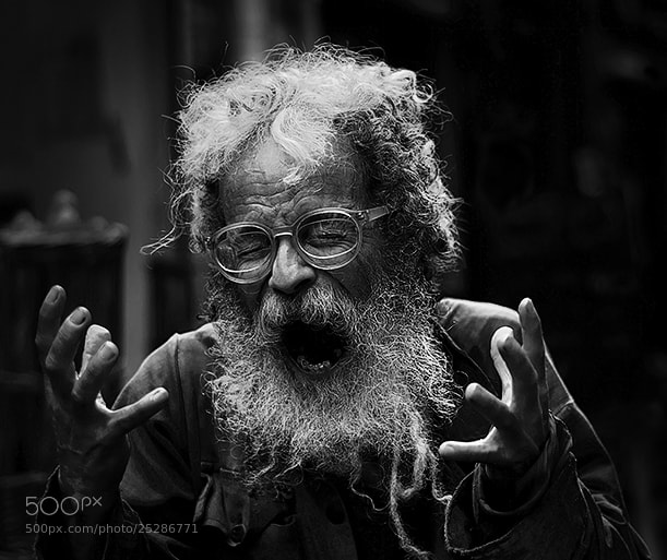 Photograph The Prophet B&W by Tomer Merav on 500px