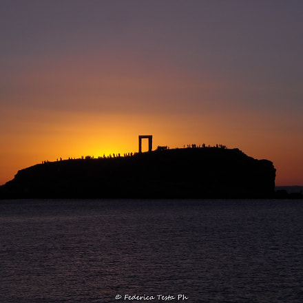 Portara - Temple of, Nikon COOLPIX L16