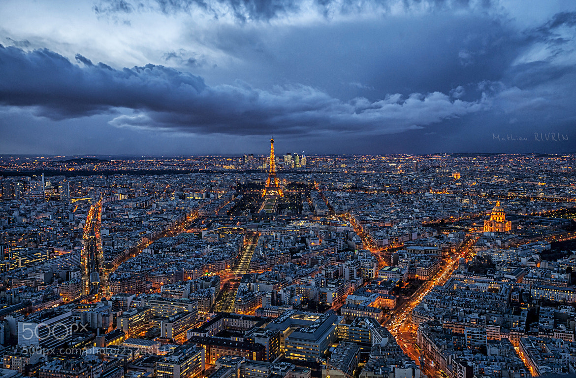 Photograph Paris, city of light under the rain ! by Mathieu RIVRIN on 500px