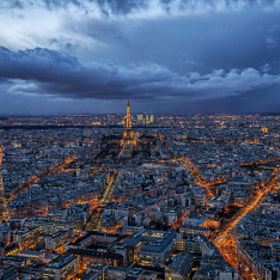 Paris, city of light under the rain ! by Mathieu RIVRIN (mathieu_rivrin)) on 500px.com