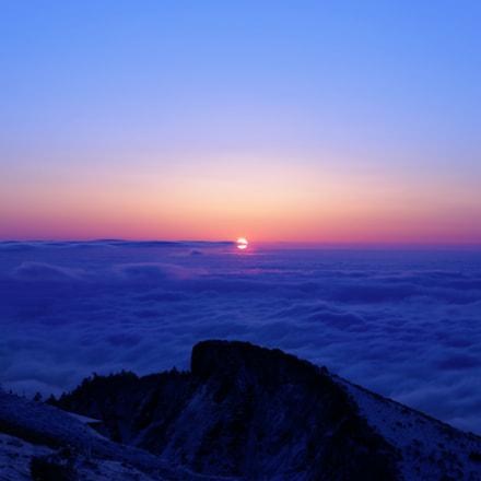 sunrise, Canon EOS 6D