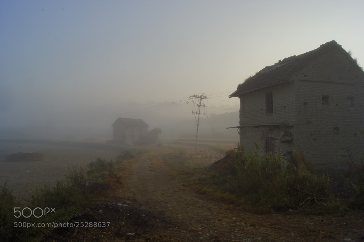 Photograph The foggy village by Afzal Khan on 500px