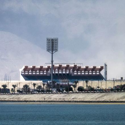 the stadium, Fujifilm FinePix SL260
