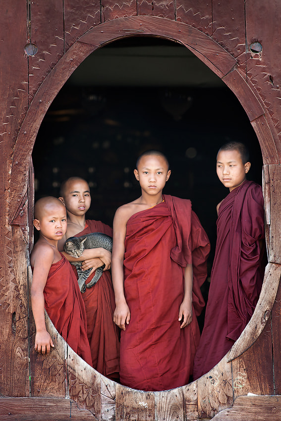 Photograph Children of Buddha by Yury Pustovoy on 500px
