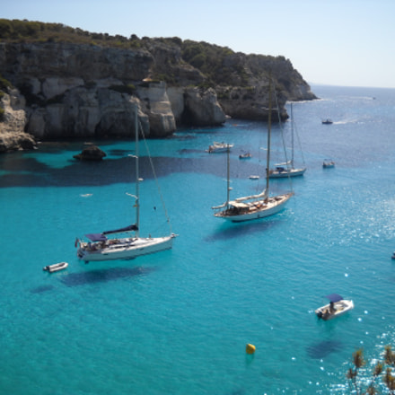 Floating Boats, Nikon COOLPIX L20