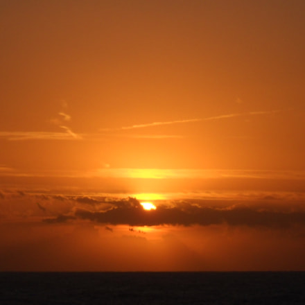 Sunset in Minorca, Nikon COOLPIX L20
