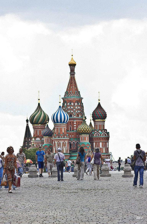 Photograph Catedral de San Basilio, Moscú by Svetlana Luz (SoY) on 500px