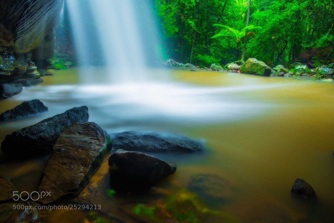 Photograph Magic Falls by Isaak  Schiller on 500px