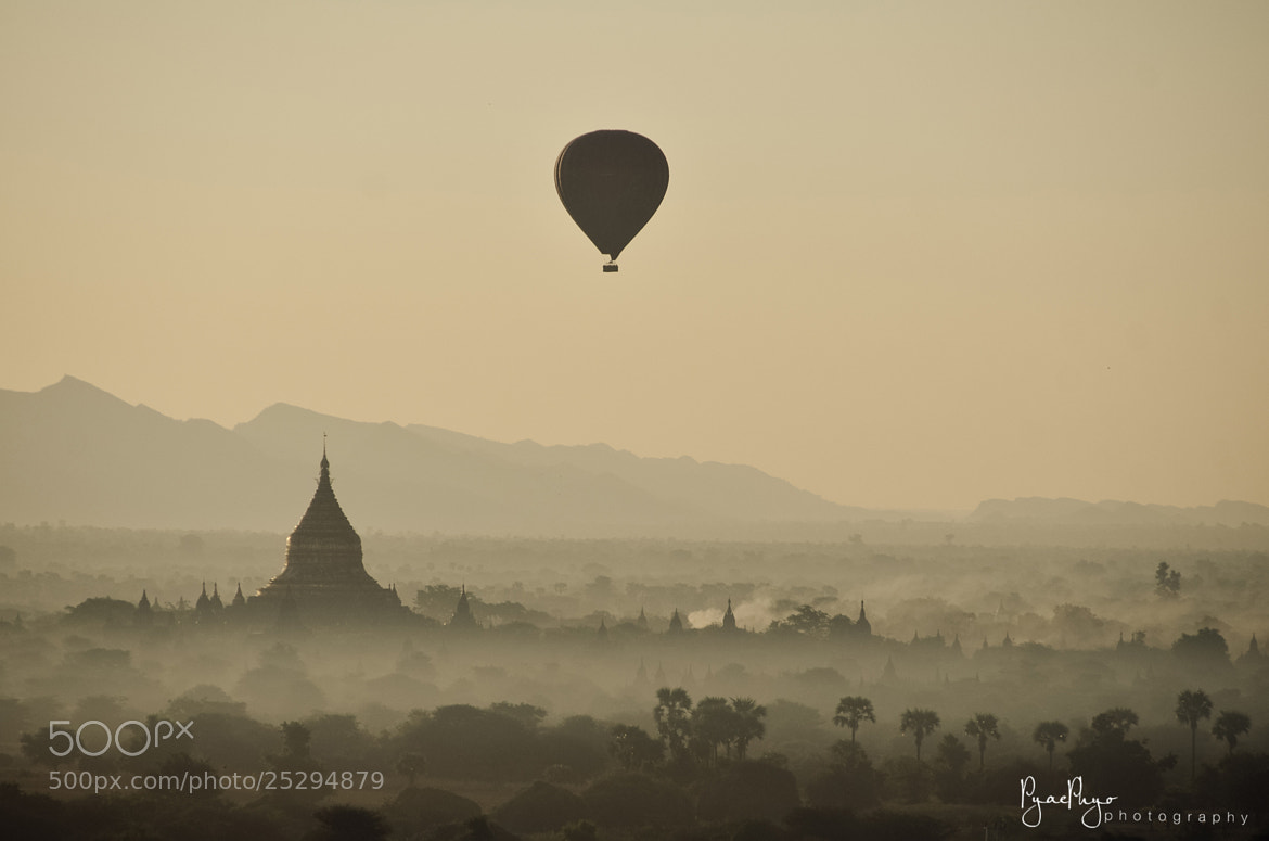 Photograph Balloon Over Bagan by Pyae Phyo on 500px