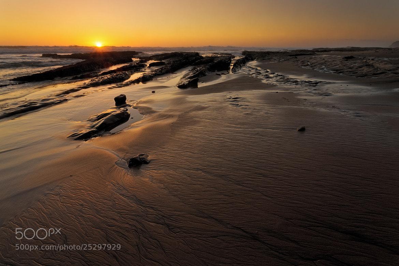 Photograph Sunset At Bonny Doon Beach, Santa Cruz by Joseph Trinh on 500px