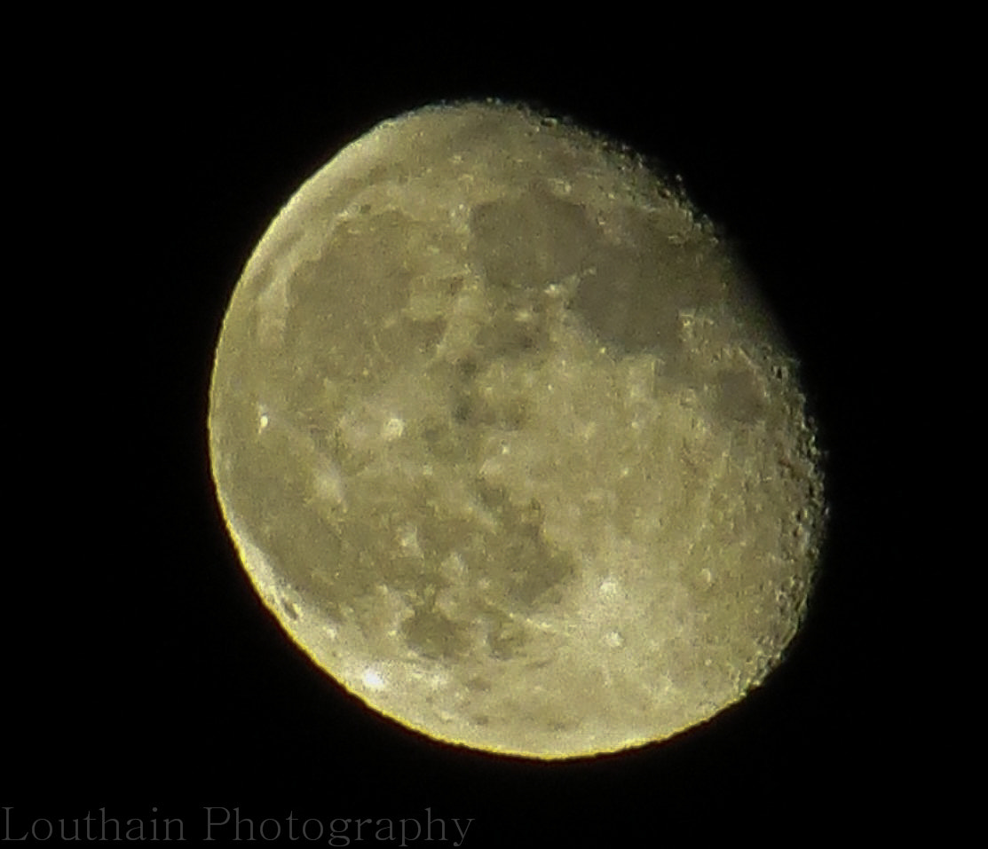 Photograph Golden Moon by Eric Louthain on 500px