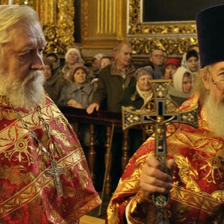 Smolensk priests, Nikon D90, AF Nikkor 35mm f/2D