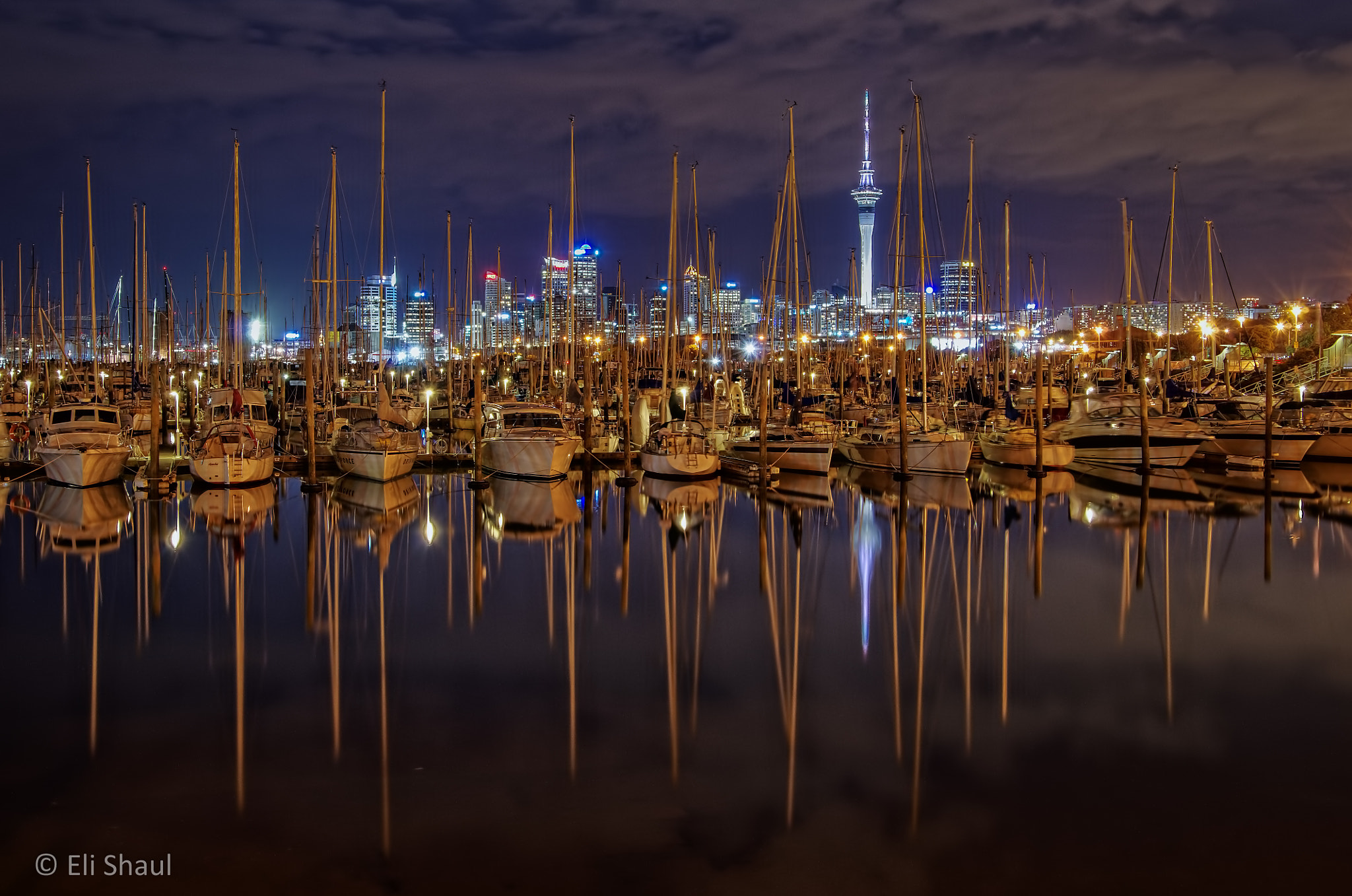 Photograph Mirrored marina by Eli Shaul on 500px