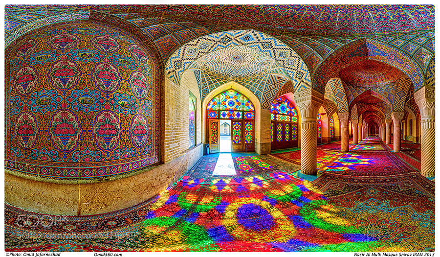 Photograph Nasir al-Mulk Mosque by Omid Jafarnezhad on 500px