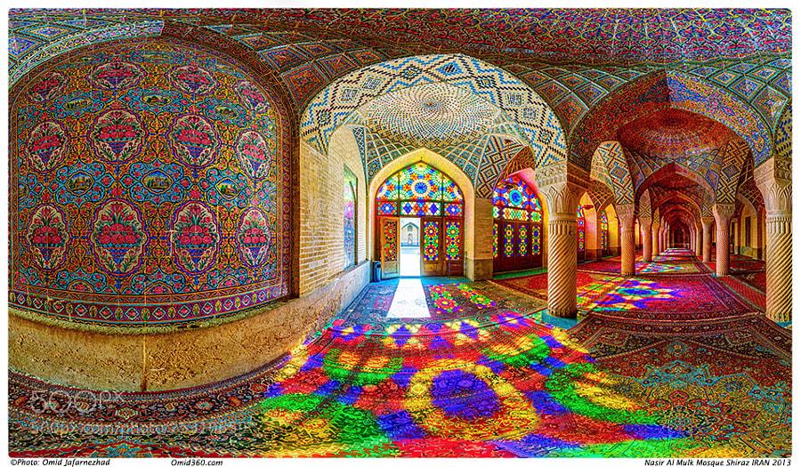 Photograph Nasir al-Mulk Mosque by Omid Jafarnezhad on 500px