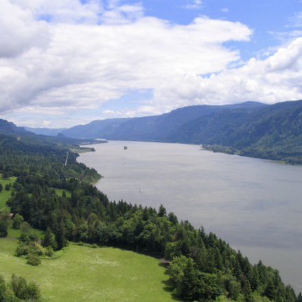 Columbia River Gorge, Canon POWERSHOT A70