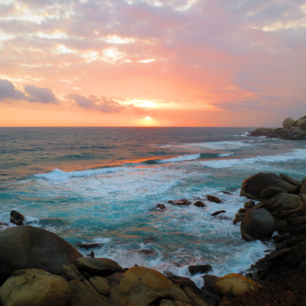 sunrise, Canon IXUS 125 HS