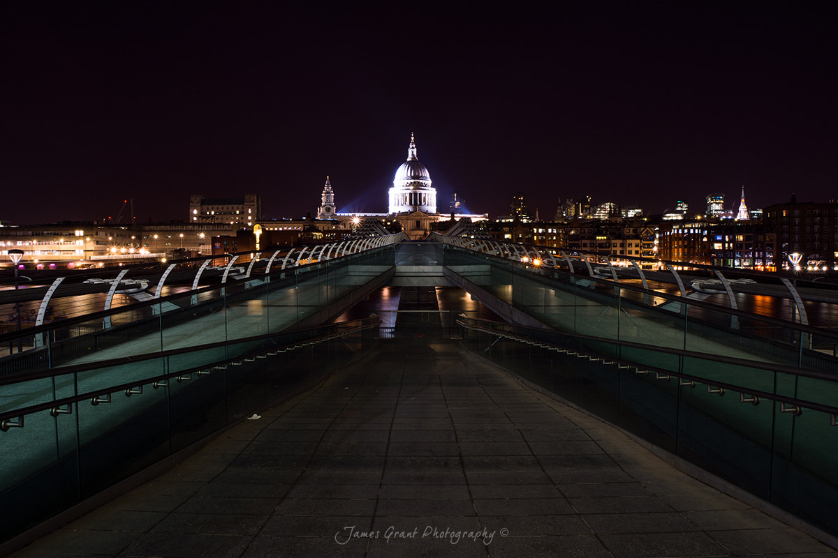 Photograph Millenium Bridge to St Pauls Cathedral by James Grant on 500px