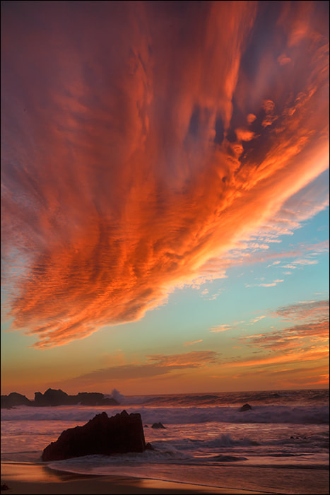 Photograph Winter Sunset at Garrapata State Beach by Don Smith on 500px