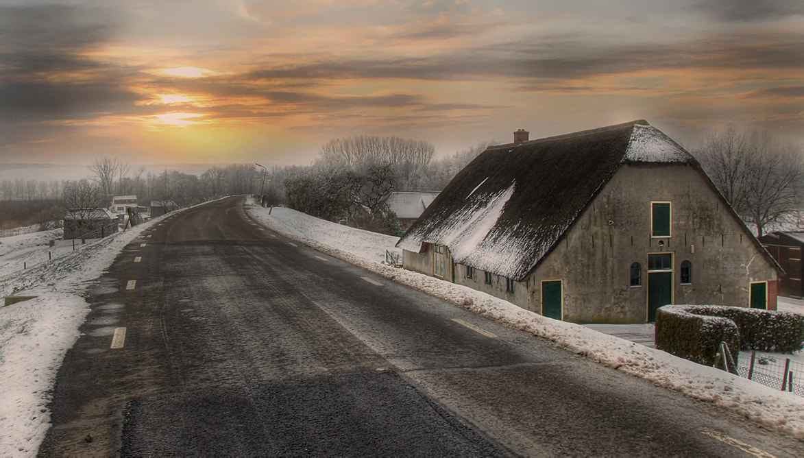Photograph Cold road home by Patrick Strik on 500px
