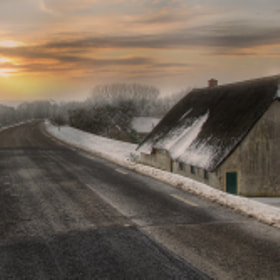 Cold road home by Patrick Strik (PatrickStrik)) on 500px.com