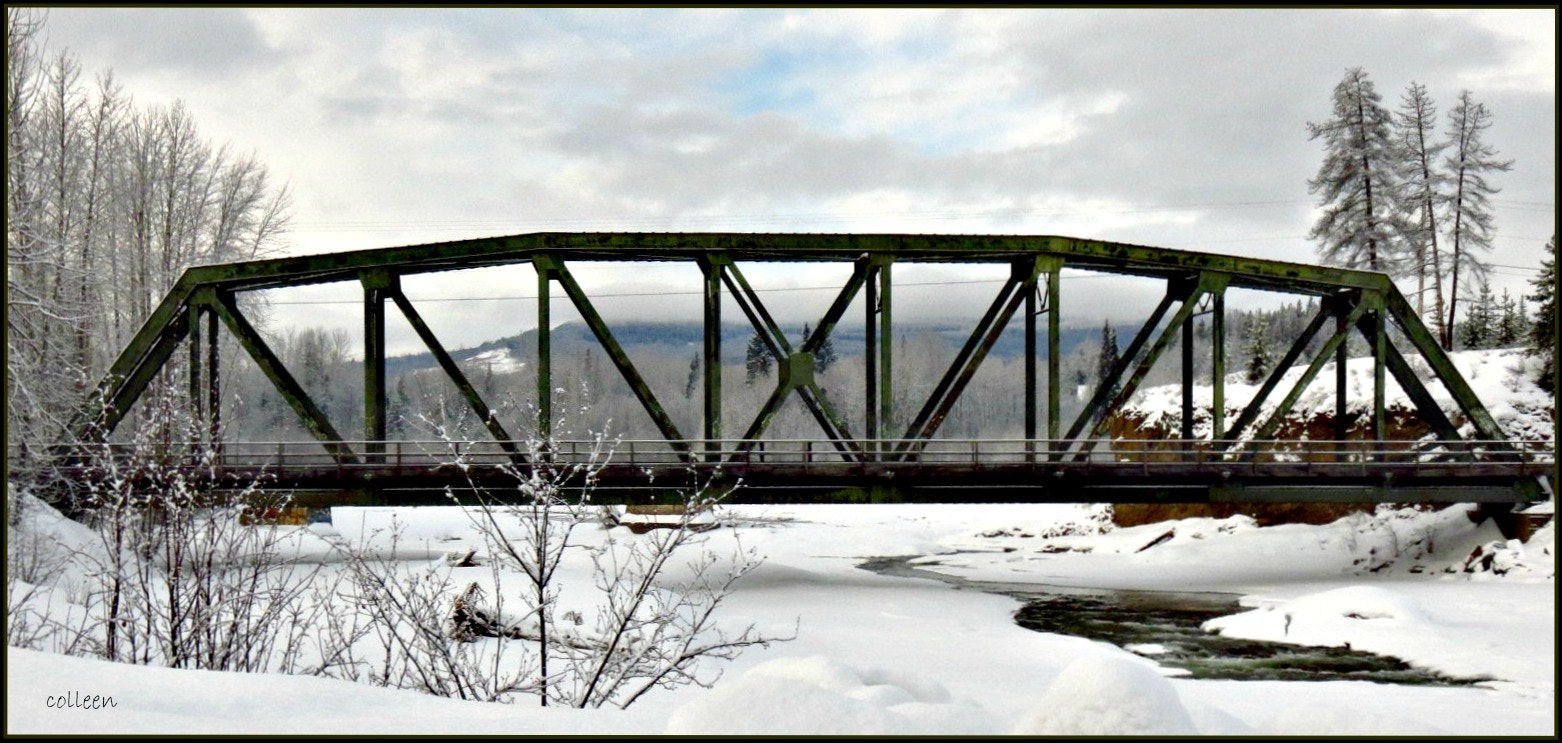 Photograph Old Telkwa Railway Bridge! by colleen thurgood on 500px