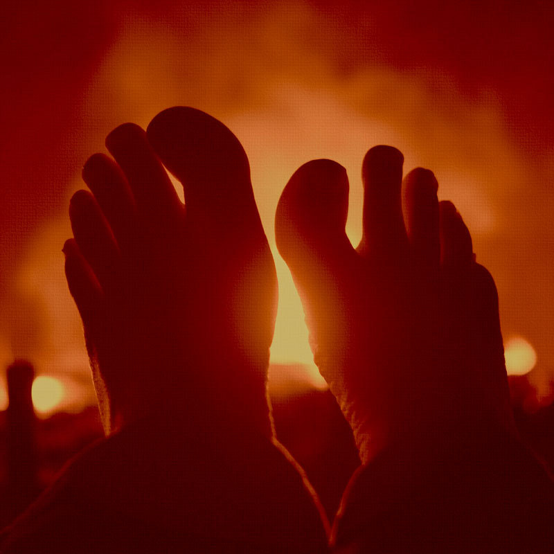 Photograph Feet to the Fire by Jon Brisbin on 500px
