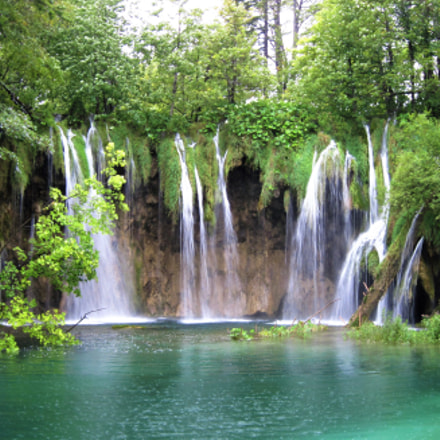 Plitvice Lakes., Canon POWERSHOT A1100 IS