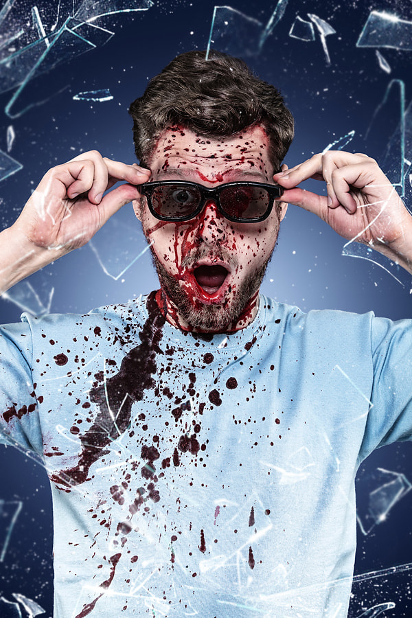 Photograph really real 3D - bloody by Christoph Ruhland on 500px